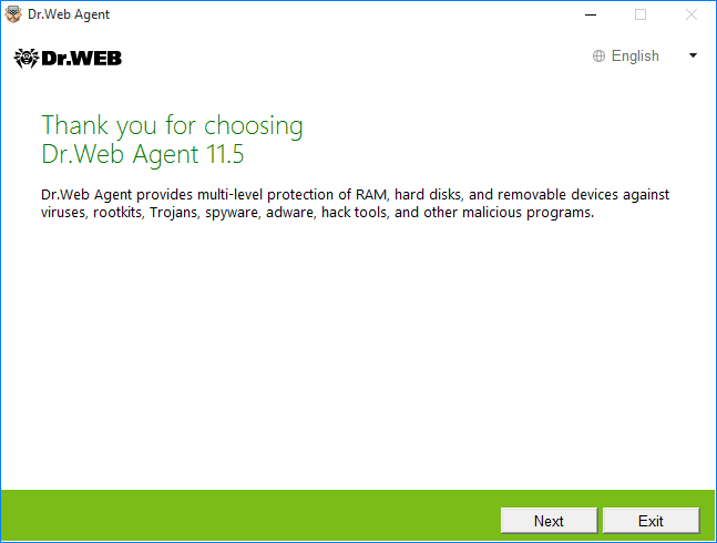 Dr Web Agent for Windows