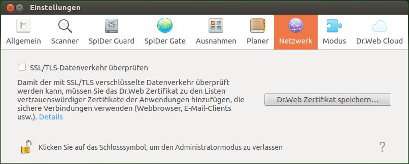 Dr.Web für Linux