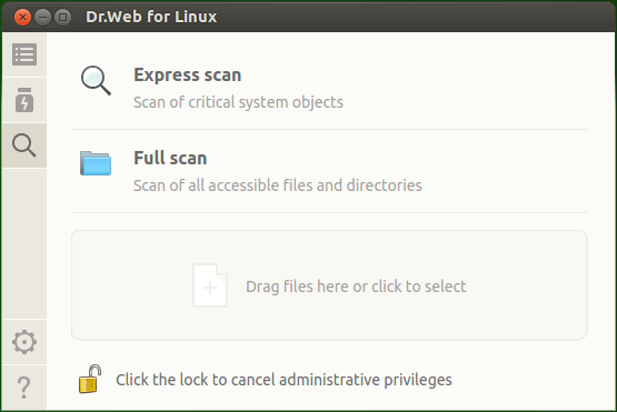 Dr Web for Linux