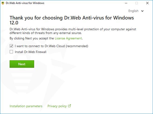 Dr Web Anti-virus for Windows